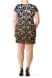 Metallic Nile Dress by Vie la V