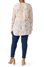 Printed Pocket Blouse by RACHEL ROY COLLECTION
