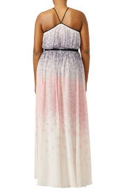 Twirling Butterfly Maxi by Badgley Mischka