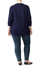 Corbelle Navy Pullover by Universal Standard