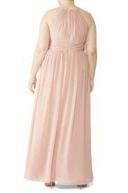 Pink Daniela Gown by Monique Lhuillier Bridesmaid