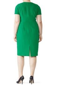 Green Bessa Sheath by L.K. Bennett