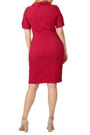 Pink Slit Dress by Nanette Lepore
