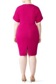 Dolman Day Dress by Badgley Mischka