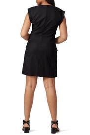 Black Skylar Dress by Veronica Beard