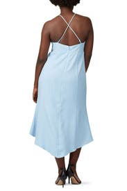 Sky Blue High Low Dress by Harlyn