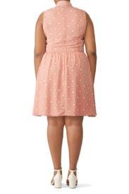 Blush Polka Dot Dress by Slate & Willow