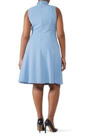 Blue Antoinette Dress by Black Halo