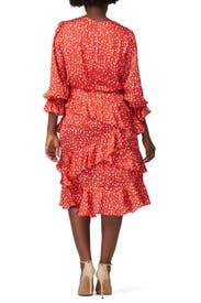 Ruffle Skirt Day Dress by ML Monique Lhuillier