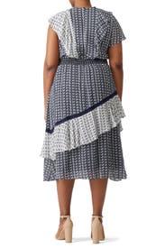 Ikat Adelina Dress by Tanya Taylor