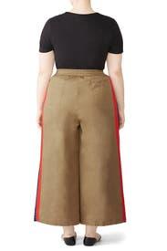 Tan Karate Pants by Tome