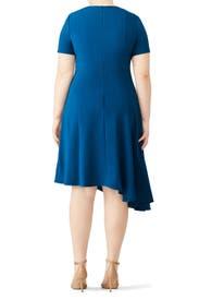 Blue Olcay Dress by Black Halo