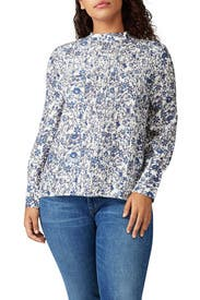 Sez Pintuck Blouse by Apiece Apart