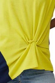 Colorblock Knot Detail Top by Nina Ricci