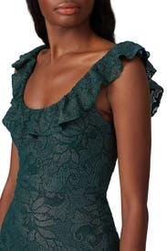 Metallic Midi Gown by Nightcap