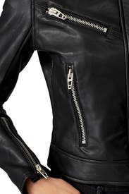Essentials Faux Leather Moto Jacket by BlankNYC