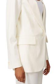 White Tuxedo Blazer by MM6 Maison Margiela