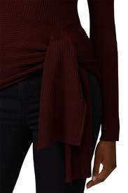 Tie Waist Ribbed Pullover by 3.1 Phillip Lim