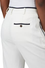 White Bergen Pants by Equipment