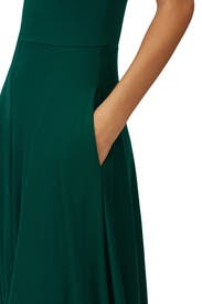 Green Mary Dress by Reformation