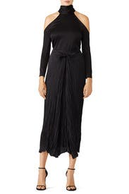 Pleated Tie Front Skirt by VINCE.