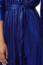 Royal Blue High Low Maxi by retrofête
