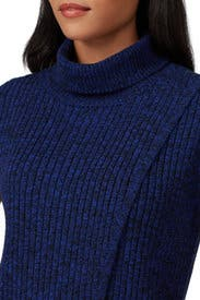 Blue Cross Front Turtleneck by Thakoon Collective