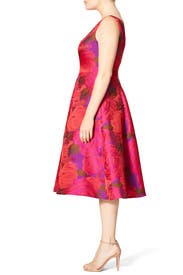 Electric Blossom Dress By Adrianna Papell For 40 Rent