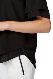 Black Maile Shirt by Club Monaco
