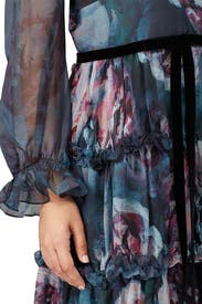 Ribbon Waist Dress by Marchesa Notte