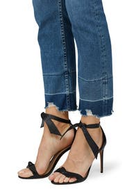 Shelter Straight Crop Jeans by 3x1