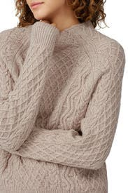 Zig Zag Cable Sweater by VINCE.