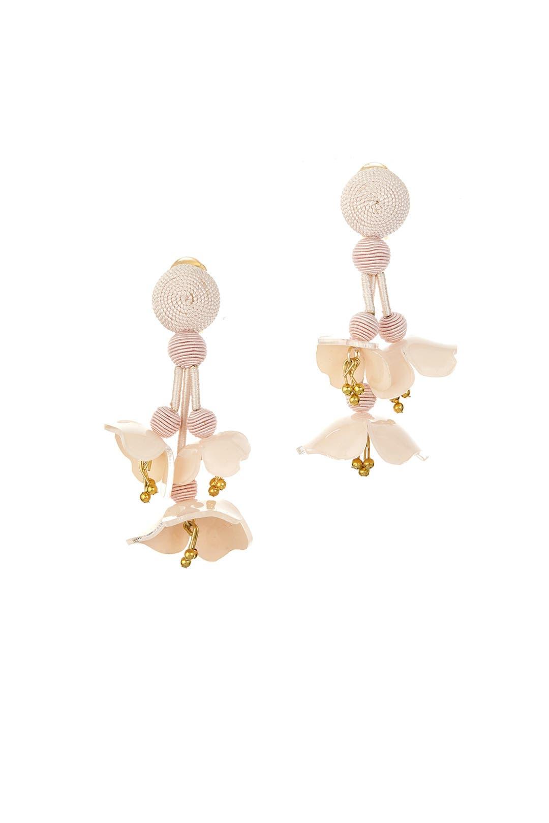 0fa22d1bf Falling Flower Earrings by Oscar de la Renta for $70 | Rent the Runway