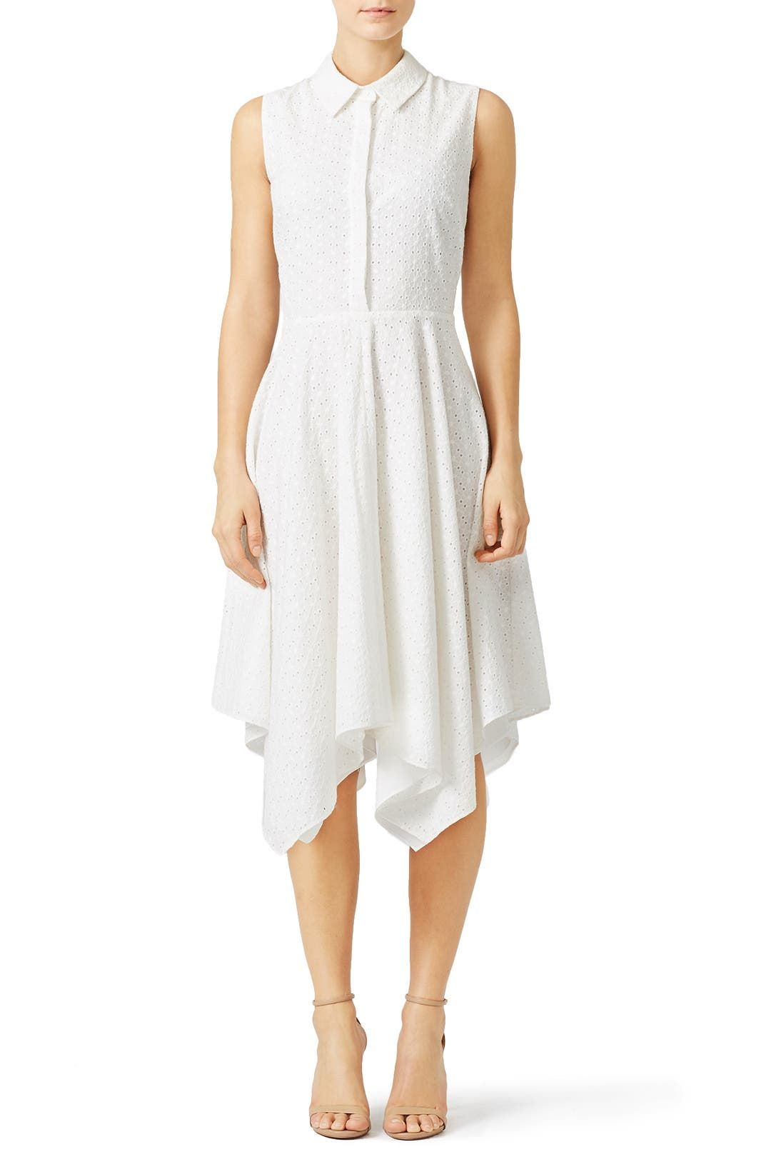 Slate & Willow White Picnic Party Dress