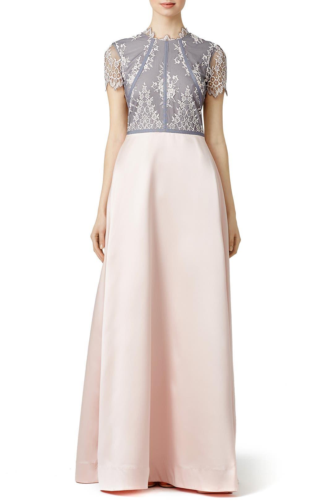 nha khanh Grey Lady Gown