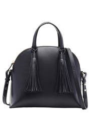 Black Dome Satchel by Loeffler Randall