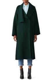 Cozy Long Wool Coat by VINCE.
