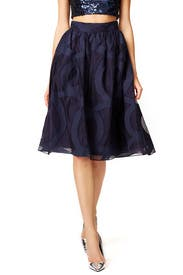 Starry Evening Skirt by Badgley Mischka