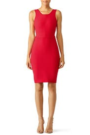 Red Emmy Dress by Elizabeth and James