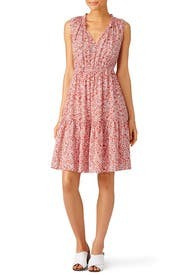 Sleeveless Provence Block Dress by Rebecca Taylor