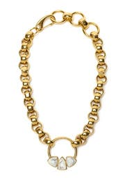 Gold Rodeo Necklace By Lizzie Fortunato For 99 Rent The