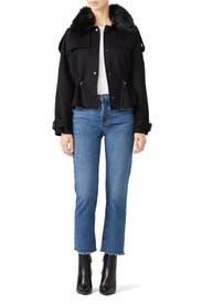 Black Tate Jacket by Ramy Brook