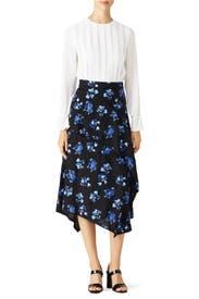 Floral Fields Skirt by Proenza Schouler
