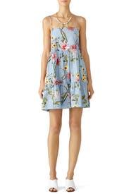 Water Lily Print Dress by Nicholas