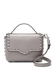 Grey Blythe Small Flap Crossbody by Rebecca Minkoff Accessories