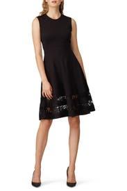 Combo Lace Flounce Dress by Jason Wu Collective
