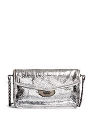 Silver Crackle Field Clutch by rag & bone Accessories