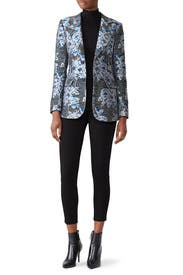 Jacquard Blazer by Derek Lam Collective