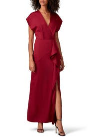 Short Sleeve Slip Gown by Harlyn