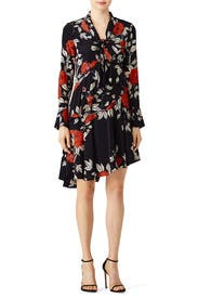 Floral Flounce Dress by Jason Wu Collection